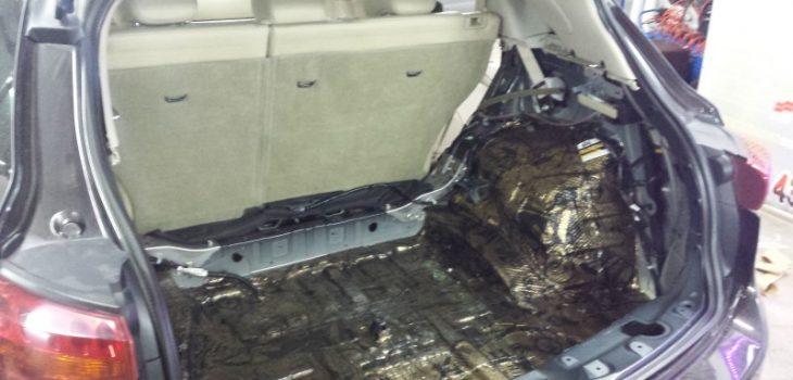 вибра багажника FX35