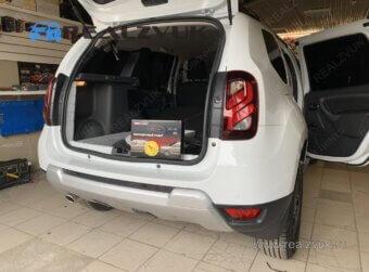 Парктроник на Renault Duster