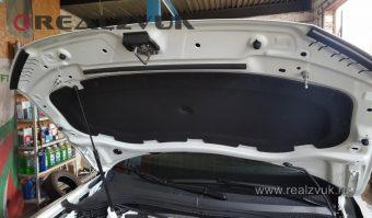 Замки капота на VW Tiguan