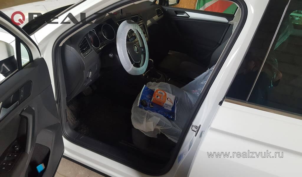 Замок и иммобилайзер на VW