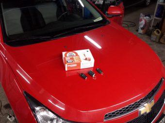 Красный Chevrolet Cruze
