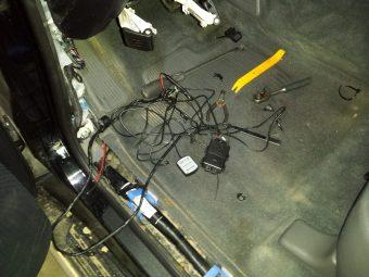 Демонтаж сигнализации ленд крузер