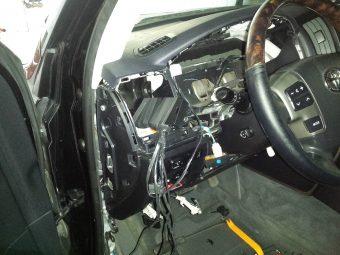 Демонтаж сигнализации ленд крузер 200