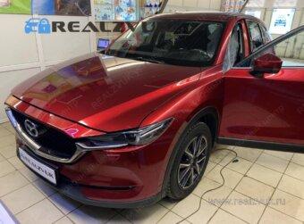 Установка сигнализации на Mazda CX5