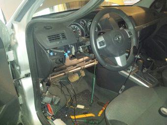 Сигнализация Opel Astra h