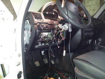 УАЗ Патриот установка сигнализации