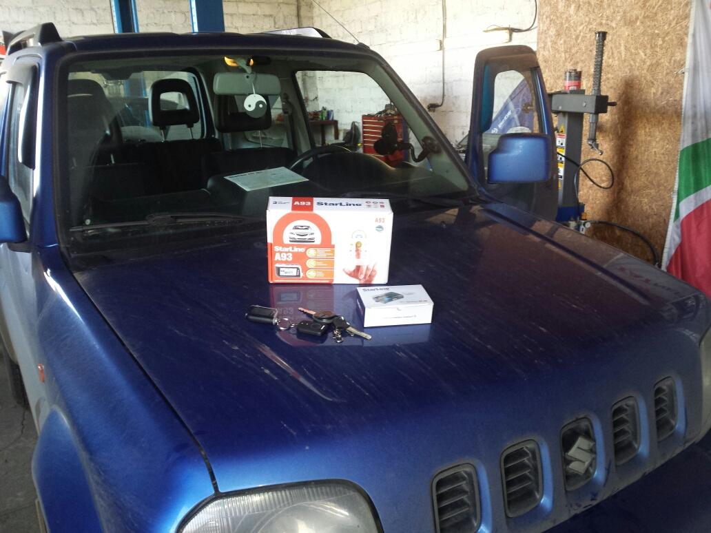 Установка Автозапуска Suzuki Jimny