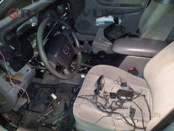 Уcтановка сигнализации на Mazda