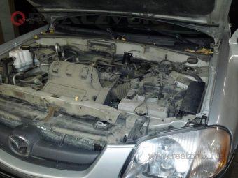 Уcтановка сирены на Mazda Tribute