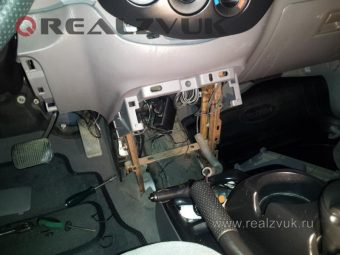 демонтаж иммобилайзера на Mazda