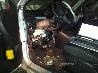 установка автозапуска на Kia
