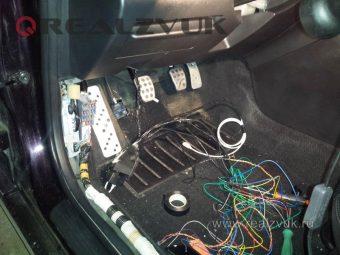 установка Pandora на Mazda
