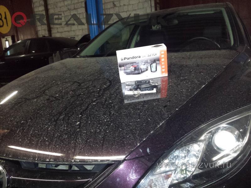 Установка сигнализации на Mazda 6