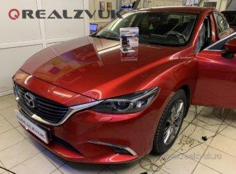 Pandora на Mazda 6
