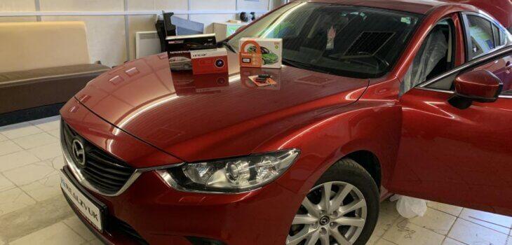 Задний парктроник на Mazda 6