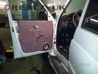 Установка акустики в двери УАЗ