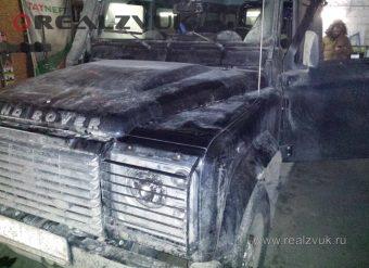 Акустика и магнитола Land Rover