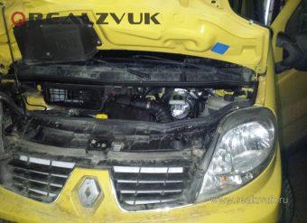 сигнализация с турботаймером на Renault Trafic