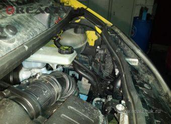 Турботаймер на Renault Trafic