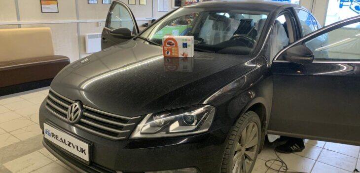 VW Passat установка Starline