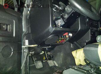 Замена акустики в Land Rover