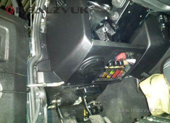 Замена акустики Land Rover