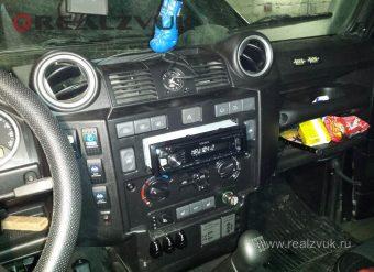 Замена магнитолы Land Rover