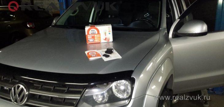 Установка запуска на VW Amarok