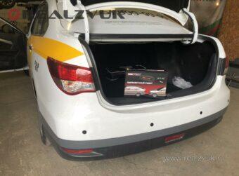 Парктроник на Nissan Almera