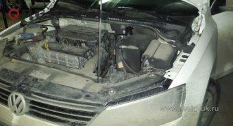 Монтаж сигнализации VW Jetta