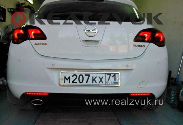 светодиоды в катафоты Opel Astra