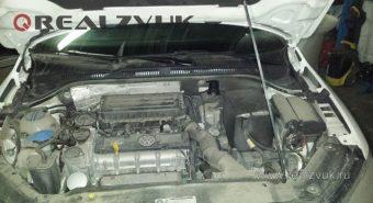 Установка сигнализации на VW Jetta