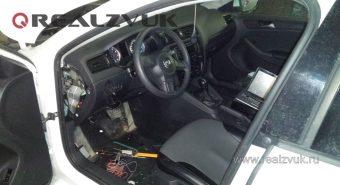 Установка сигнализации VW Jetta