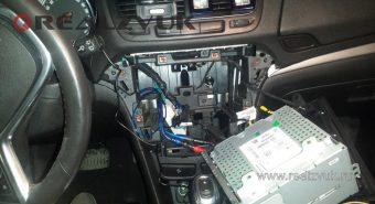Установка усилителя Opel Mokka