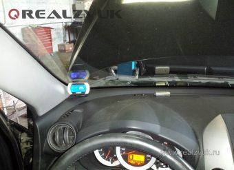 Парктроник 8 датчиков на Toyota RAV4