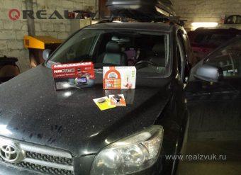 Сигнализация GSM и парктроник на RAV4