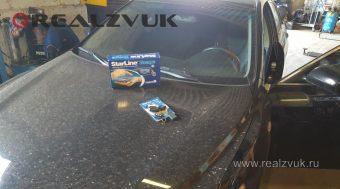Сигнализация Starline на Toyota Camry