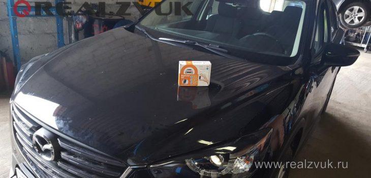 Установили иммобилайзер и замки капота на Mazda CX5