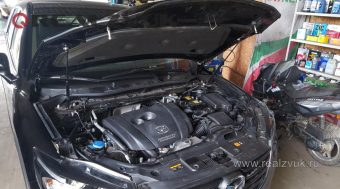 защита от угона на Mazda CX5