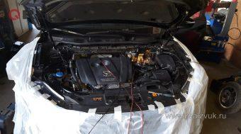 иммобилайзер и замки капота на Mazda CX5