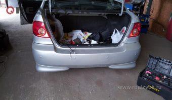 парктроник на Toyota Corolla