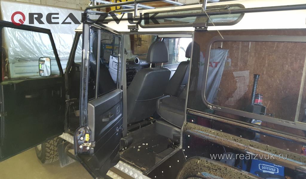 Полная шумоизоляция Land Rover Defender