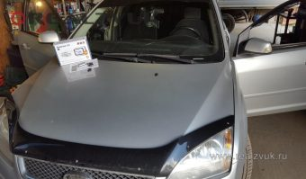 Сигнализация StarLine E60 на Ford Focus 2