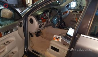 Установка сигнализации VW touareg