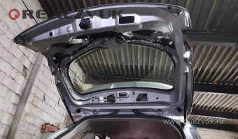 Установка Mazda CX5 камера и парктроник