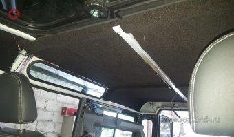 Шумовиброизоляция Land Rover Defender