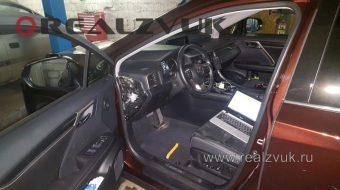 Установка сигнализации на Lexus