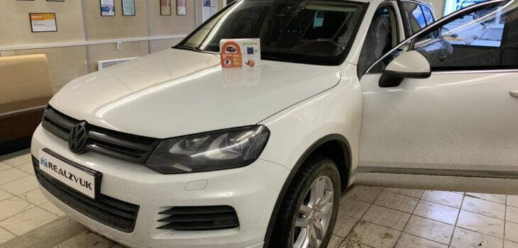 Автозапуск на VW Touareg