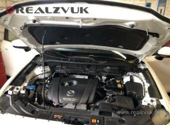 Замки капота на Mazda CX5
