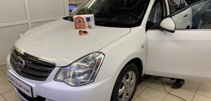 Сигнализация на Nissan Almera